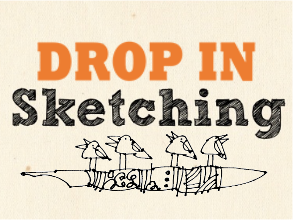 Drop In Sketching Group, Monthly, 2nd Friday