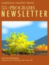 cover of 55+ newsletter