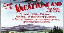Scarborough Historical Society, Maine's Early Tourism