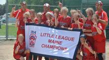 Photo of the Scarborough Little League State Champions