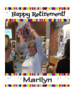 Retirement Open House, Marilyn Taylor, Scarborough Public Library