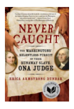 Never Caught book cover