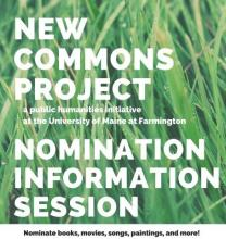 New Commons Project, Drop In, Nomination Information Session
