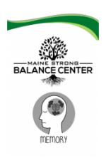 Maine Strong Balance Ctr, Jogging Your Memory, Scarborough Public Library