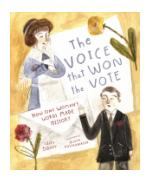 Book cover of The Voice that Won the Vote