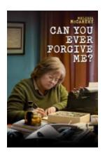 Movie Poster for Can You Ever Forgive Me?