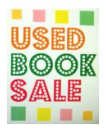 Friends of the Library, Annual Book Sale,