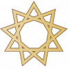 Nine-pointed star